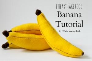 Felt Banana DIY Craft