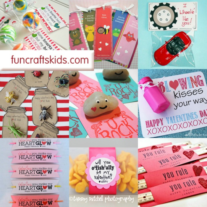 11+ No Candy Valentines Printables