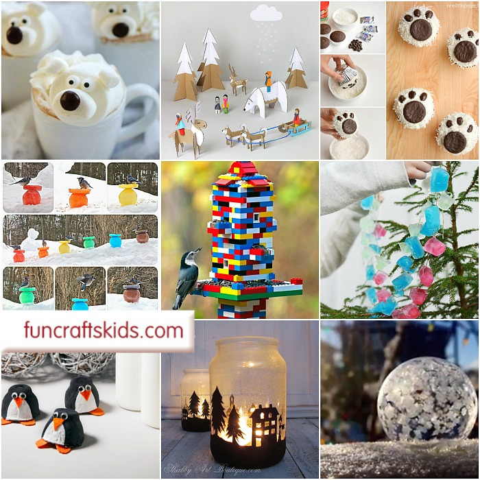 Wonderful Winter Crafts 17+ fantastic crafts that celebrate the winter months