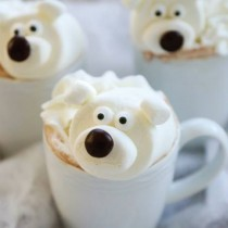 Polar Bear Marshmallow Hot Chocolate