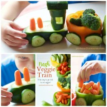 Veggie Train! Fun Healthy Food for Kids