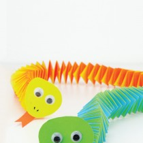 Easy Paper Snake Craft