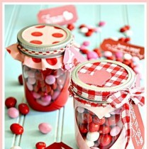 FREE Valentine Printable Heart Candy Jar