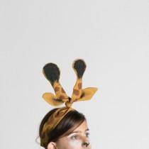 Giraffe Ears costume DIY
