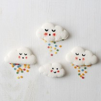 Homemade Marshmallow Clouds