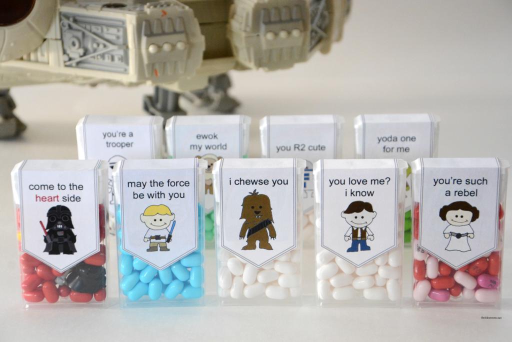 Star Wars Valentines Printable Fun Crafts Kids