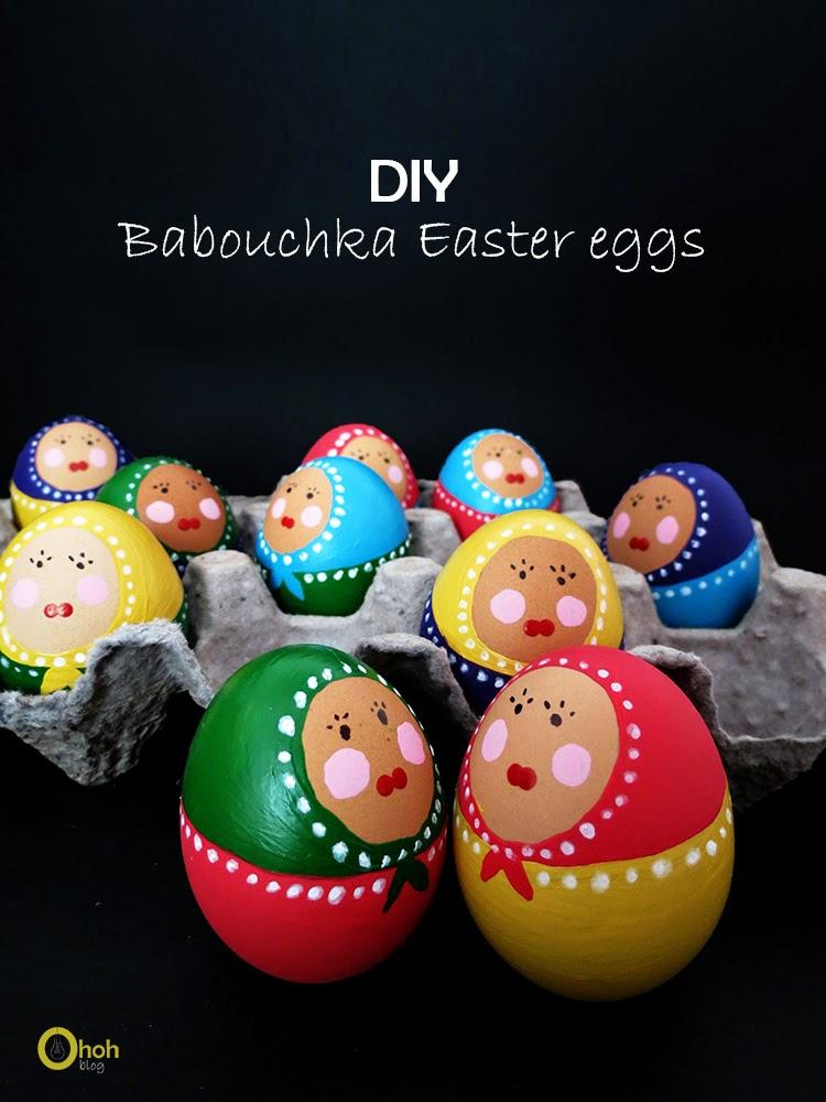Babushka Easter Eggs