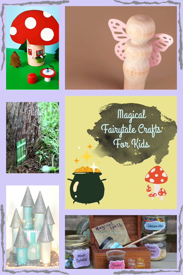 fairy tale crafts for kids