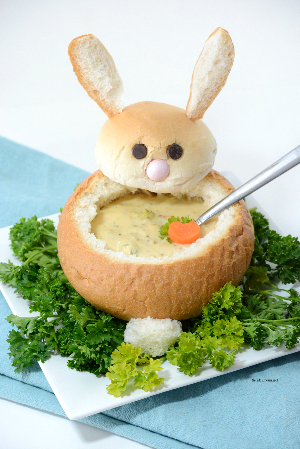 Bunny Bread Bowl for Soup