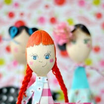 Spoon Doll Craft