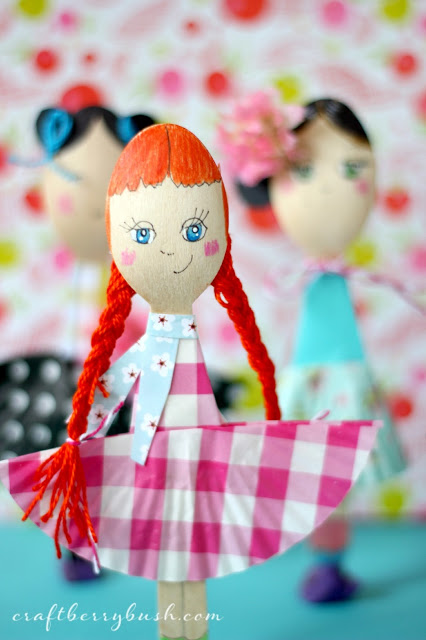 Easy Spoon Doll Craft for Kids