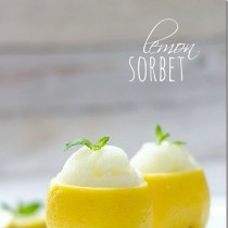 Lemon Sorbet recipe