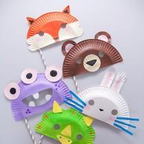 Paper Plate Masks!