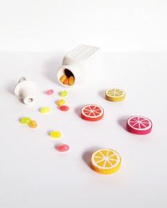 citrus DIY magnets