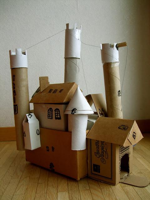 Diy Cardboard Castle Fun Crafts Kids