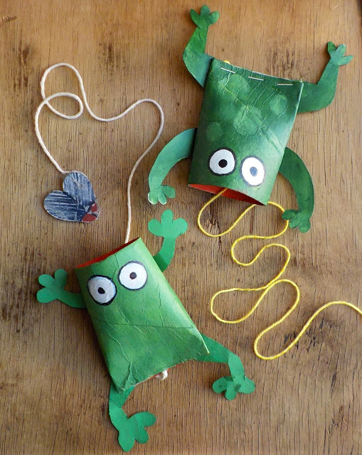 Ten great frog crafts - Fun Crafts Kids