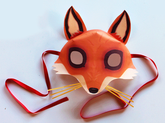 photograph regarding Printable Fox Masks called printable Archives - Exciting Crafts Small children
