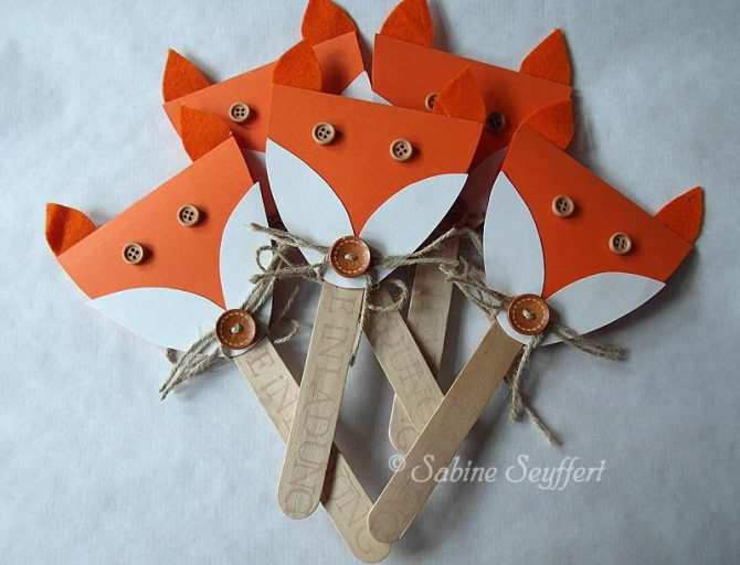 Fox themed Party invitations