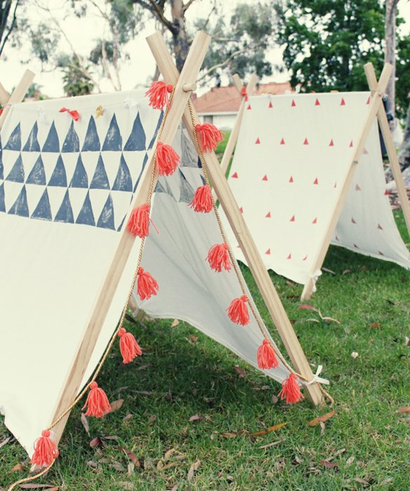 Garden Tent DIY - the perfetc summer hideou