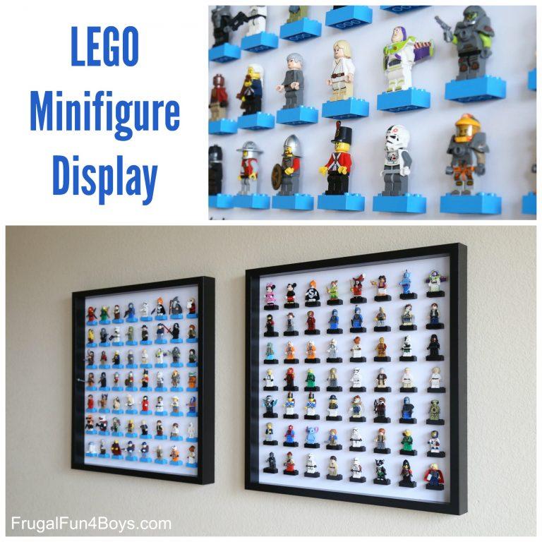Ikea hack diy lego storage display fun crafts kids for Lego diy