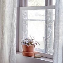 DIY Window privacy frame