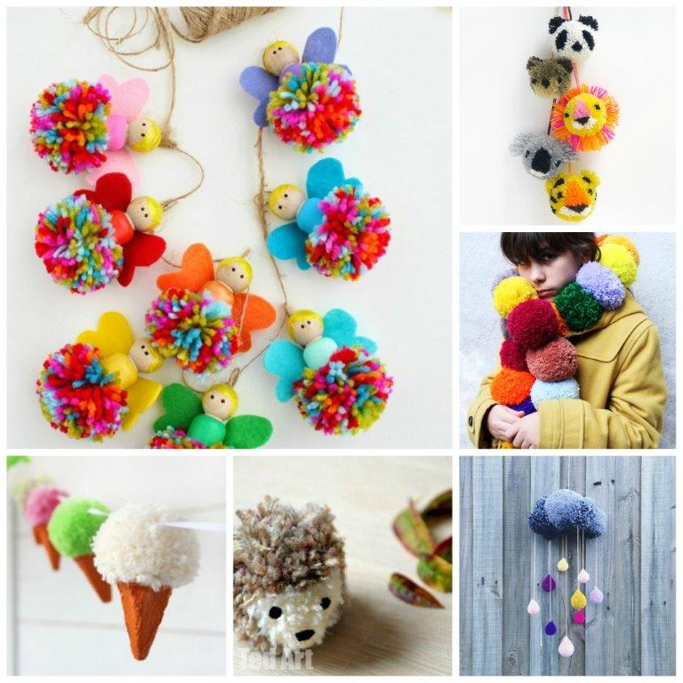 25-Wonderful-Pom-Pom-Crafts-and-Project-Ideas1