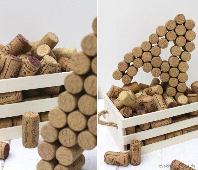 DIY Cork Letters