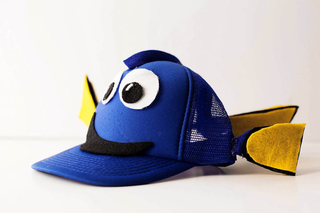 Finding Dory DIY ideas - make your own Dory Hat