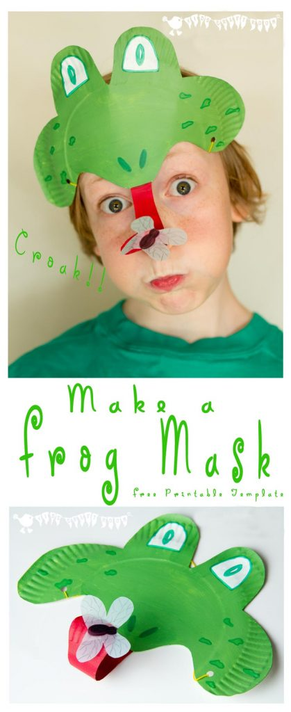 How-To-Make-A-Frog-Mask