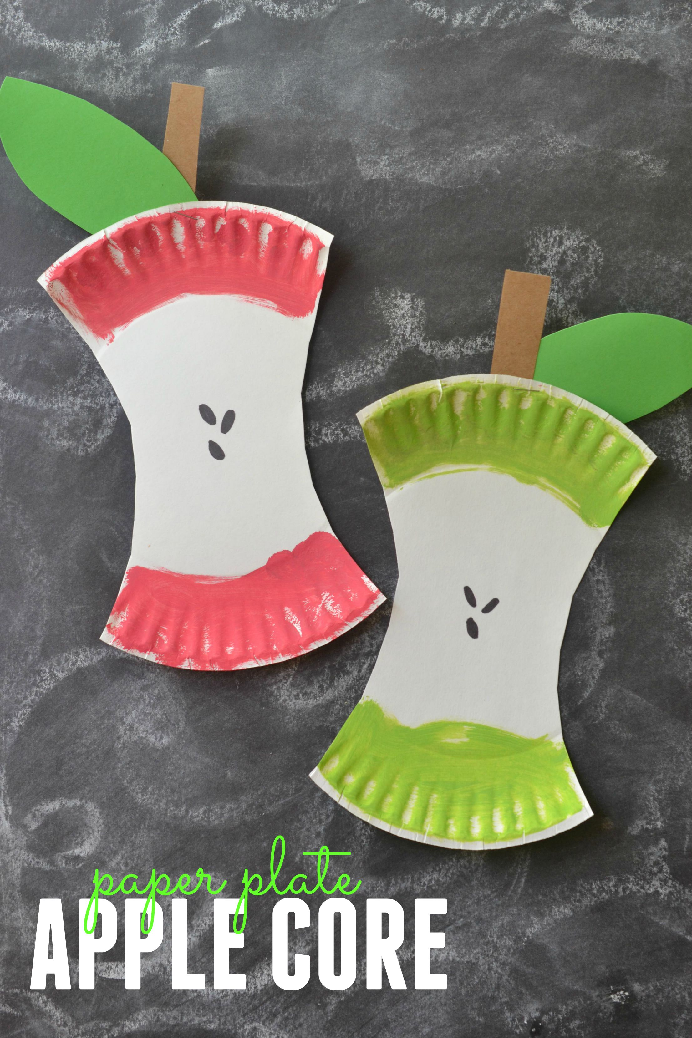 Diy apple core project fun crafts kids for Pinterest art ideas for adults