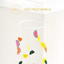 DIY Fruity Baby Mobile