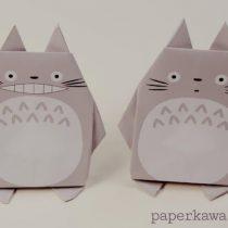 Origami Totoro DIY