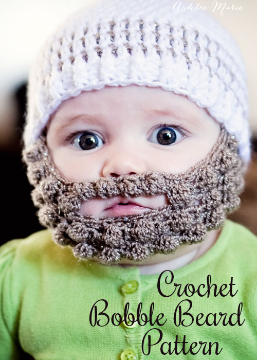 Baby Beard Pattern Fun Crafts Kids