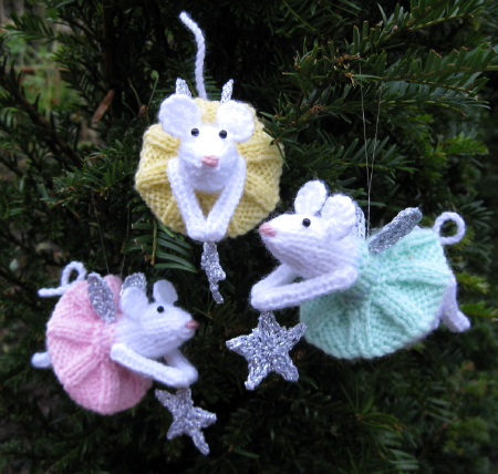 Christmas Mice Ornaments