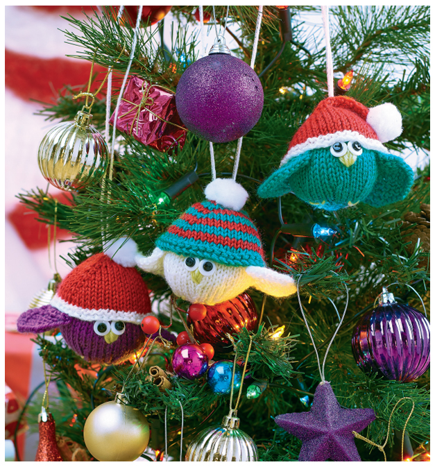 Christmas Fairy Mouse Ornament Knitting Pattern Fun Crafts Kids