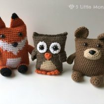 Easy Bear crochet pattern