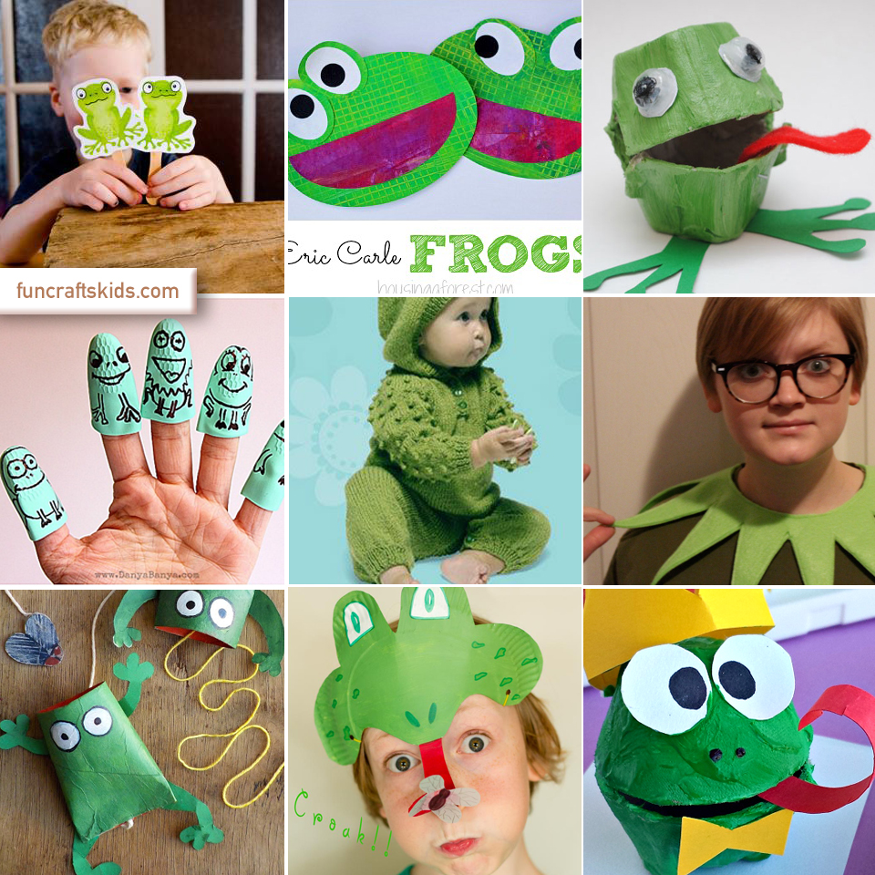 Frog craft round up