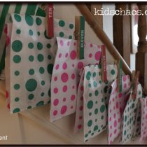 Advent Calendar Clothes Pin