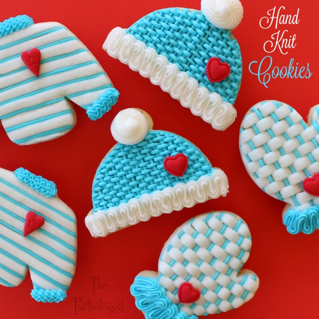 Woolly Hat Cookies