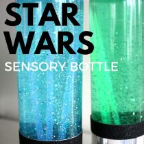 Star Wars Sensory Lightsaber Bottles