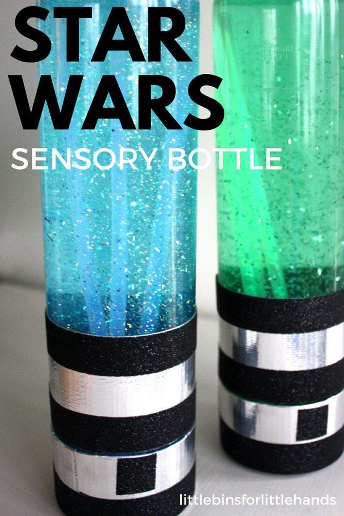 Star Wars Sensory Lightsaber Bottles