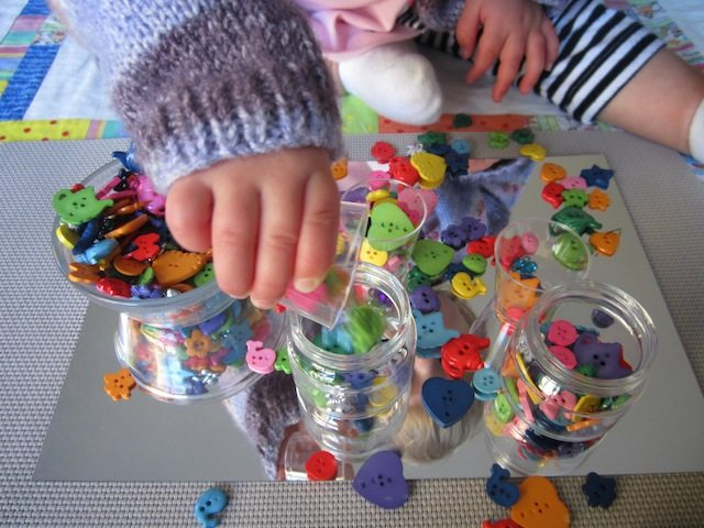 Toddlers Mirror Activities