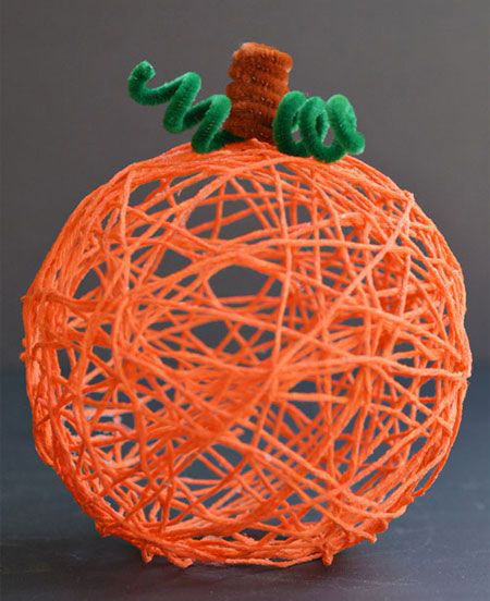 yarn-pumpkin