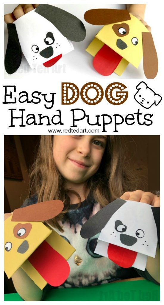 Dog-Paper-Puppets