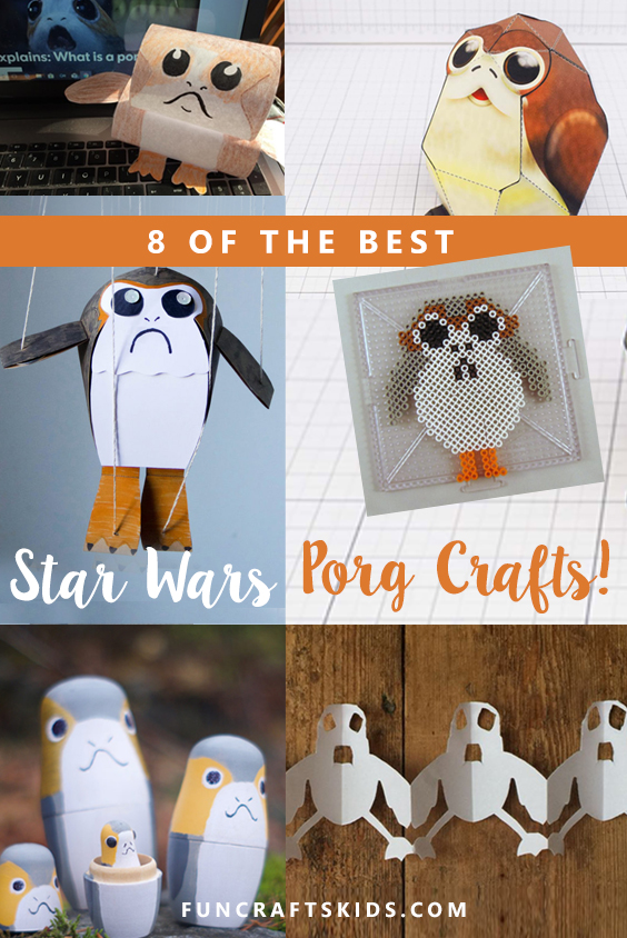 The Best Star Wars Porg crafts
