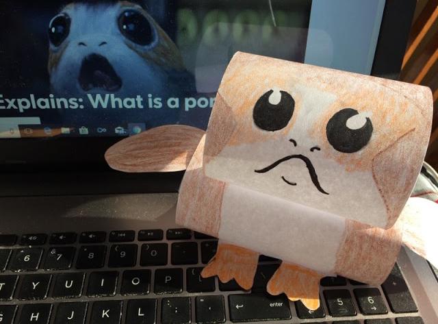Make-your-own-desktop-porg-paper
