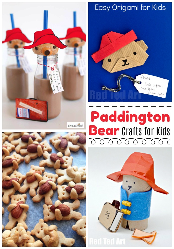 Paddington Bear Crafts #paddington