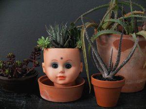 doll-head-planter
