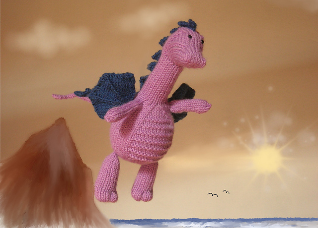 knit a dragon
