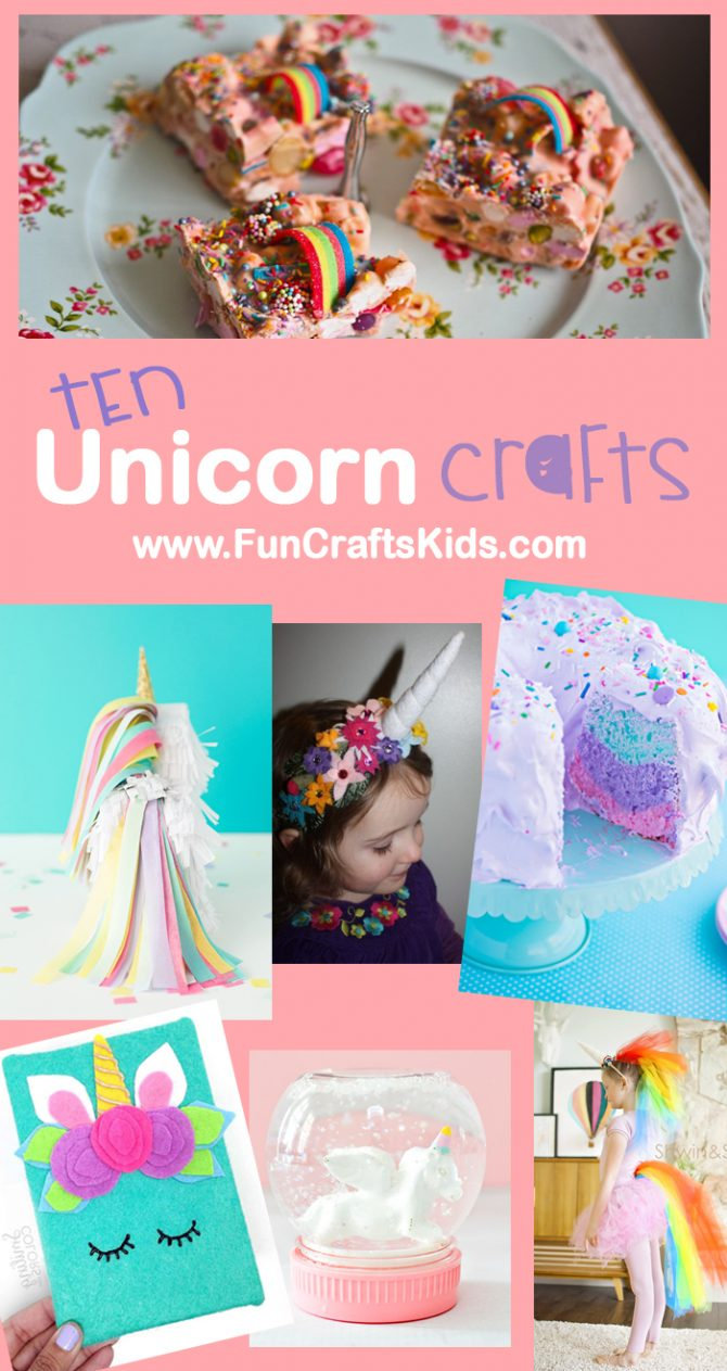 10 wonderful unicorn DIY crafts